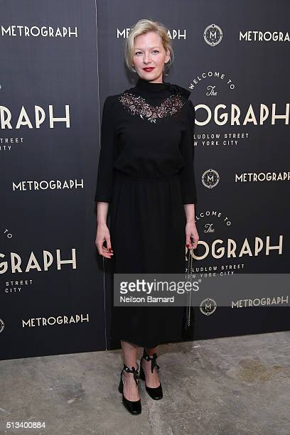 Actress Gretchen Mol attends the Metrograph opening night at Metrograph on March 2 2016 in New York City