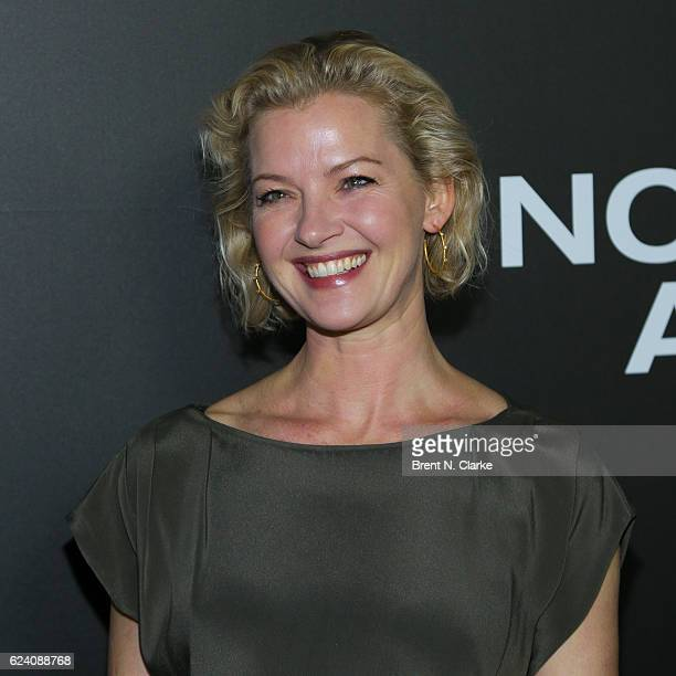 Actress Gretchen Mol attends the 'Nocturnal Animals' New York premiere held at The Paris Theatre on November 17 2016 in New York City