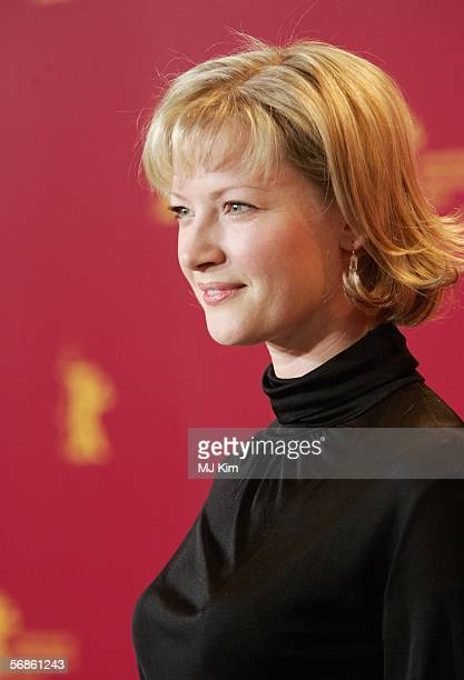 Actress Gretchen Mol attends the photocall of The Notorious Bettie Page during the 56th Berlin International Film Festival on February 16 2006 in...