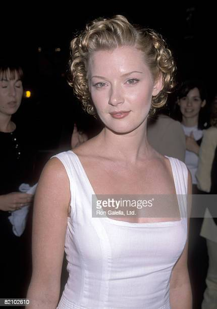 Actress Gretchen Mol attends the 'Rounders' Hollywood Premiere on August 25 1998 at Loews Cineplex Showcase La Brea in Hollywood California