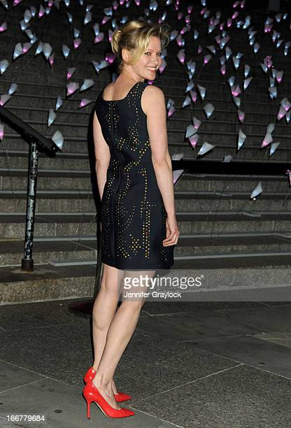 Actress Gretchen Mol attends the Vanity Fair Party 2013 Tribeca Film Festival Opening Night Party held at the New York State Supreme Courthouse on...