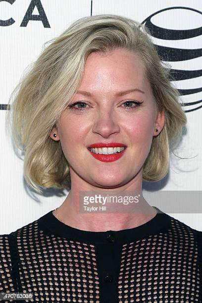 Actress Gretchen Mol attends the world premiere of 'Anesthesia' during the 2015 Tribeca Film Festival at BMCC Tribeca PAC on April 22 2015 in New...