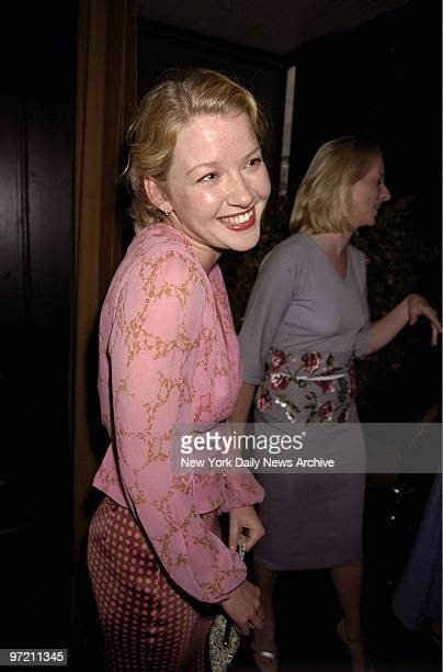 Actress Gretchen Mol is on hand for Allure magazine party at Bottino