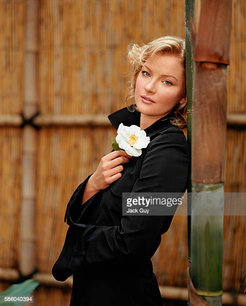 Actress Gretchen Mol is photographed for Movieline in 2003 in Los Angeles California PUBLISHED IMAGE