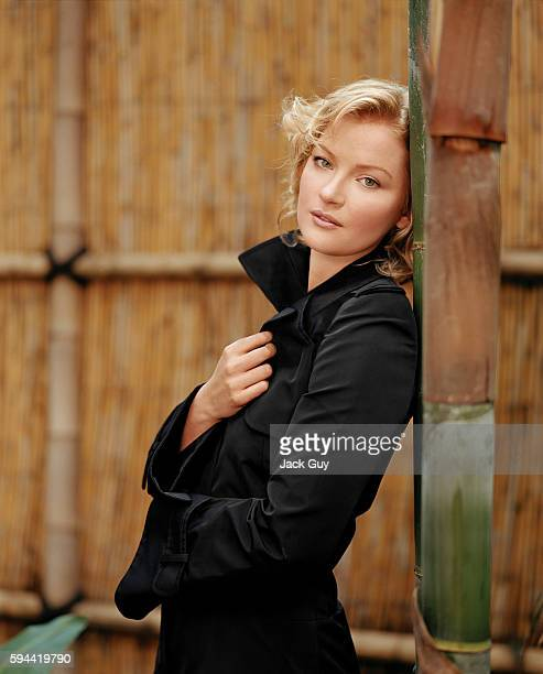 Actress Gretchen Mol is photographed for Movieline in 2003 in Los Angeles California