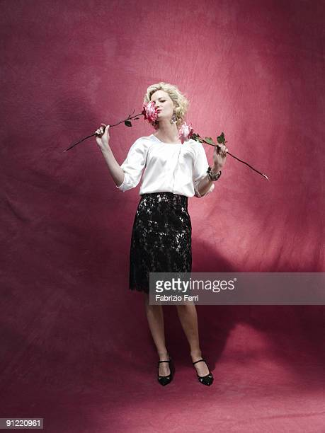 Actress Gretchen Mol is photographed for Oprah Magazine