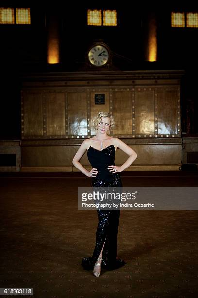 Actress Gretchen Mol is photographed for The Untitled Magazine on July 17 2012 in New York City PUBLISHED IMAGE CREDIT MUST READ Indira Cesarine/The...