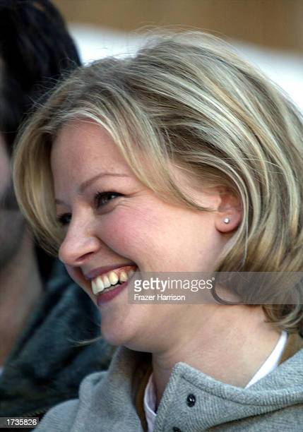 Actress Gretchen Mol is seen at the 2003 Sundance Film Festival to promote her new movie 'The Shape of Things' on January 20 2003 in Park City Utah