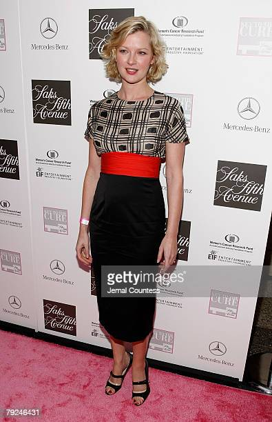"""Actress Gretchen Mol on the Red Carpet at the """"VIVA LA CURE"""" Benefiting for EIF's Women's Cancer Research Fund hosted by SAKS Fifth Avenue at The Sea..."""
