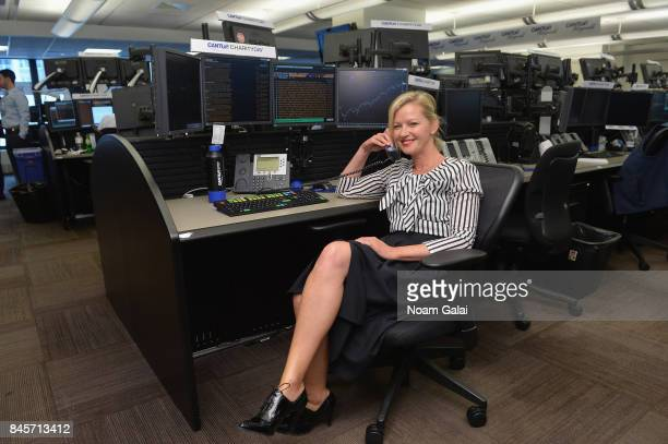 Actress Gretchen Mol participates in Annual Charity Day hosted by Cantor Fitzgerald BGC and GFI at Cantor Fitzgerald on September 11 2017 in New York...