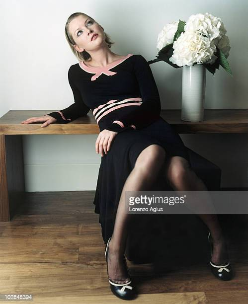 Actress Gretchen Mol poses for a portrait shoot on February 5 2003 in London