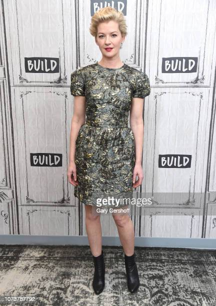 Actress Gretchen Mol visits Build Series to discuss the Syfy TV series 'Nightflyers' at Build Studio on November 28 2018 in New York City