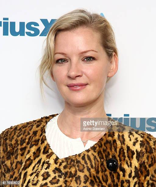 Actress Gretchen Mol visits the SiriusXM Studios on October 24 2016 in New York City