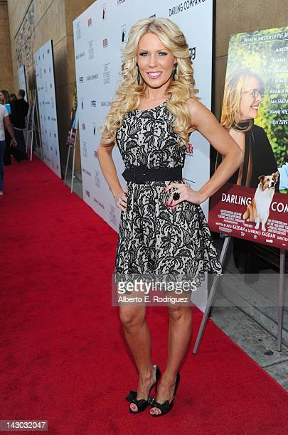 Actress Gretchen Rossi attends the Los Angeles premiere of Sony Pictures Classics' Darling Companion at the Egyptian Theatre on April 17 2012 in...