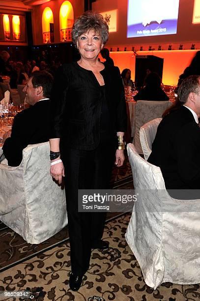 Actress Grit Boettcher attends the 'Felix Burda Award' at hotel Adlon on April 18 2010 in Berlin Germany