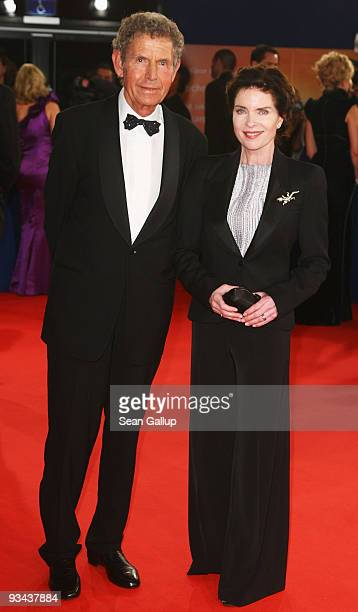 Actress Gudrun Landgrebe and husband Ulrich von Nathusius arrive to the Bambi Awards 2009 at the Metropolis Hall at the Filmpark Babelsberg on...