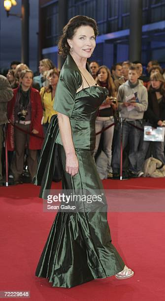 Actress Gudrun Landgrebe attends the German Television Awards at the Coloneum October 20 2006 in Cologne Germany