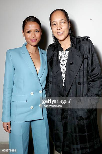 Actress Gugu MbathaRaw and director Gina PrinceBythewood attend the New York Times Magazine's Great Performers 2016 at NeueHouse Los Angeles on...