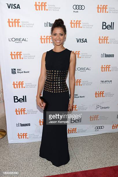 Actress Gugu MbathaRaw arrives at the Belle Premiere during 2013 Toronto International Film Festival at The Elgin on September 8 2013 in Toronto...