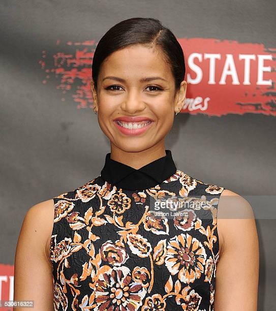 Actress Gugu MbathaRaw attends a photo call for Free State of Jones at Four Seasons Hotel Los Angeles at Beverly Hills on May 11 2016 in Los Angeles...