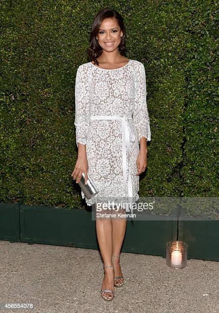 Actress Gugu MbathaRaw attends Claiborne Swanson Frank's Young Hollywood book launch hosted by Michael Kors at Private Residence on October 2 2014 in...