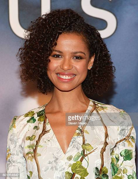 """Actress Gugu Mbatha-Raw attends """"Concussion"""" cast photo call at Crosby Street Hotel on December 14, 2015 in New York City."""