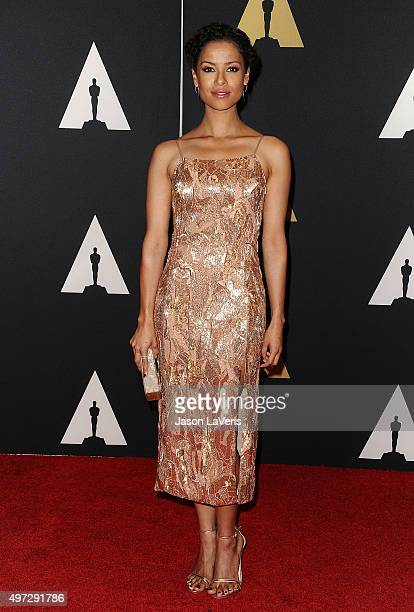 Actress Gugu MbathaRaw attends the 7th annual Governors Awards at The Ray Dolby Ballroom at Hollywood Highland Center on November 14 2015 in...
