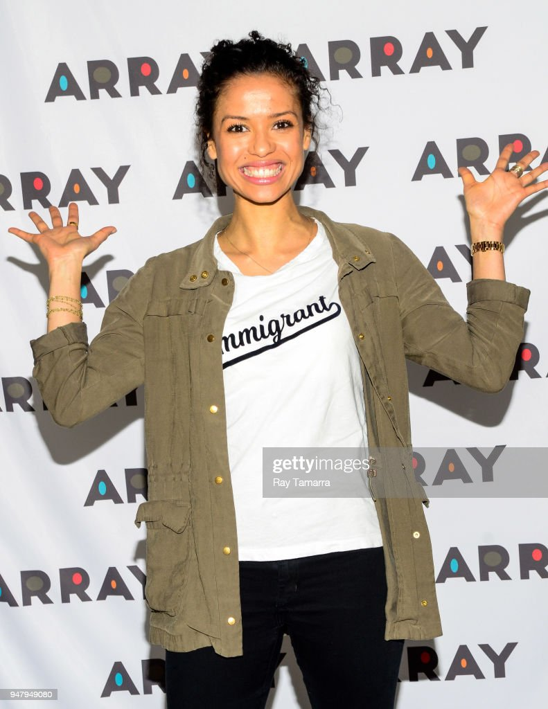 Actress Gugu Mbatha-Raw attends the ARRAY Open House at the ARRAY Headquarters on April 17, 2018 in Los Angeles, California.