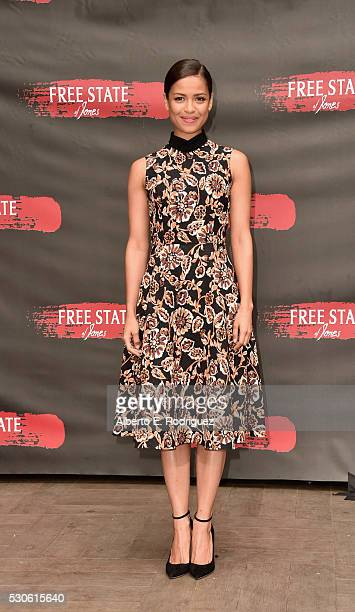 Actress Gugu MbathaRaw attends the photo call for STX Entertainment's Free State Of Jones at Four Seasons Hotel Los Angeles at Beverly Hills on May...