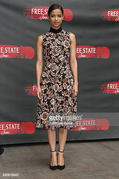 Actress Gugu MbathaRaw attends the photo call for STX Entertainment's Free State Of Jones held at the Four Seasons Hotel Los Angeles at Beverly Hills...