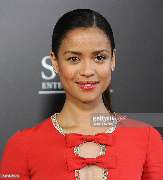 Actress Gugu MbathaRaw attends the premiere of Free State of Jones at DGA Theater on June 21 2016 in Los Angeles California