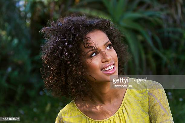 Actress Gugu MbathaRaw is photographed for Los Angeles Times on April 14 2014 in Los Angeles California PUBLISHED IMAGE CREDIT MUST READ Lawrence...