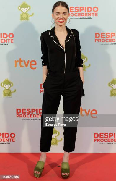Actress Guiomar Puerta attends the 'Despido procedente' photocall at Callao cinema on June 29 2017 in Madrid Spain