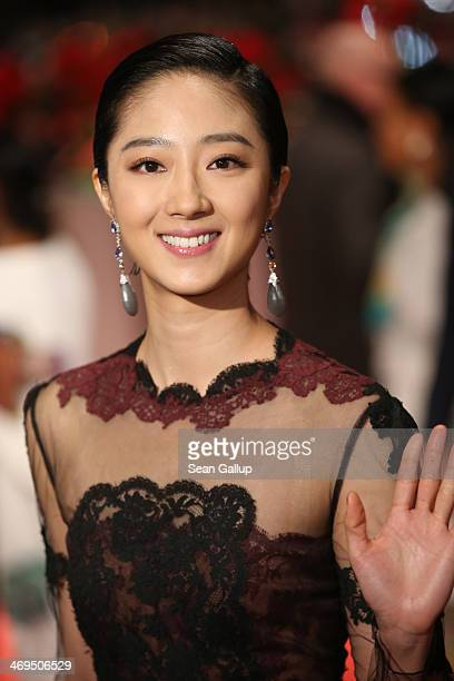 Actress Gwei Lun Mei arrives for the closing ceremony during 64th Berlinale International Film Festival at Berlinale Palast on February 15 2014 in...
