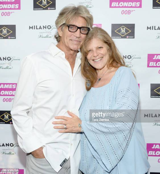 Actress Gwen Carole attends 'James Blondes' premiere party and QA with Robert Carradine and Julie Lake at Bar Lubitsch on June 21 2018 in Los Angeles...