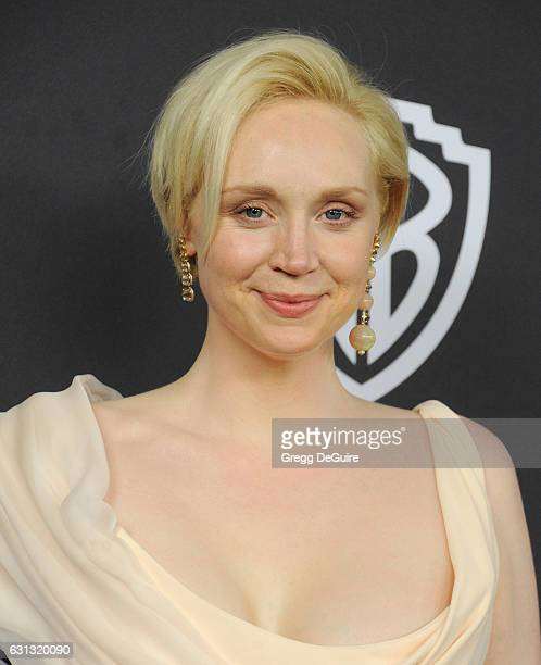 Actress Gwendoline Christie arrives at the 18th Annual PostGolden Globes Party hosted by Warner Bros Pictures and InStyle at The Beverly Hilton Hotel...