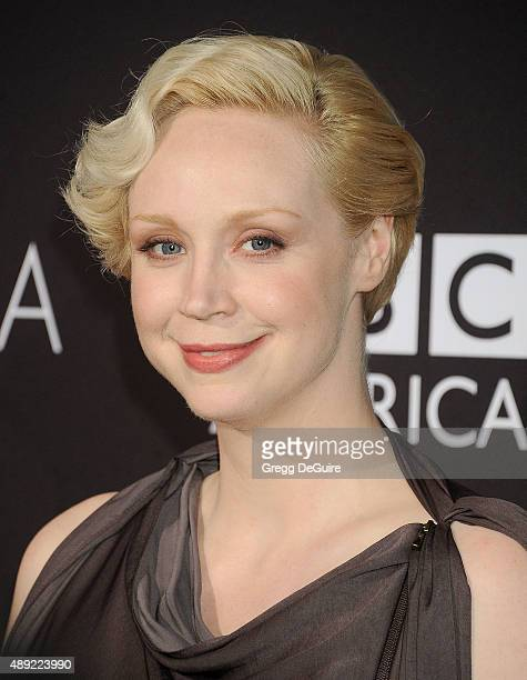 Actress Gwendoline Christie arrives at the BAFTA Los Angeles TV Tea 2015 at SLS Hotel on September 19 2015 in Beverly Hills California