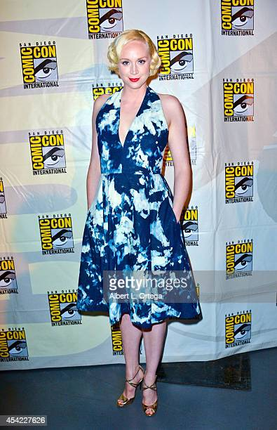 """Actress Gwendoline Christie at HBO's """"Game Of Thrones"""" Panel And Q&A on Friday Day 2 of Comic-Con International 2014 held at San Diego Convention..."""