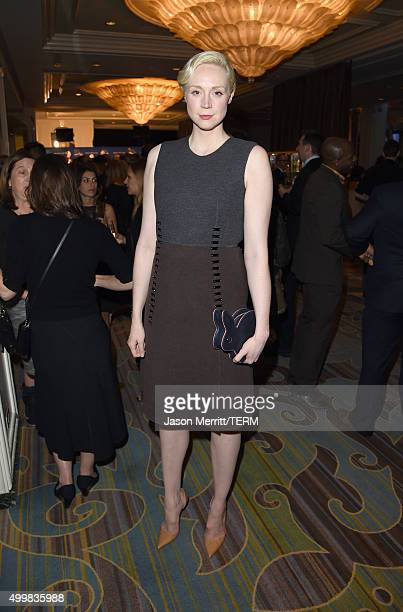 Actress Gwendoline Christie attends Children's Defense Fund-California 25th Annual Beat The Odds Awards at Regent Beverly Wilshire Hotel on December...
