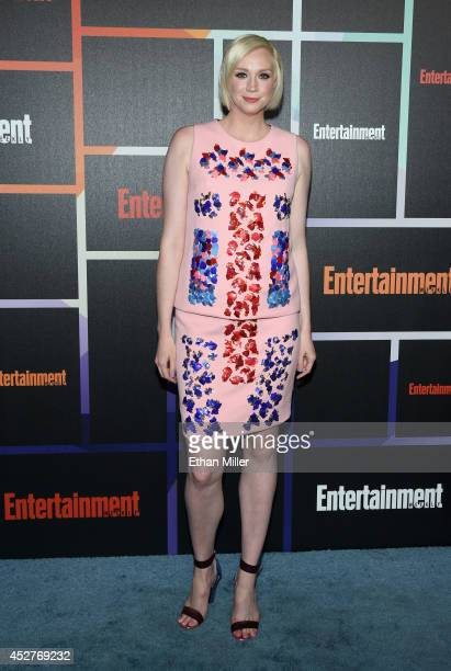 Actress Gwendoline Christie attends Entertainment Weekly's annual ComicCon celebration at Float at Hard Rock Hotel San Diego on July 26 2014 in San...