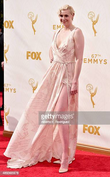 Actress Gwendoline Christie attends the 67th Emmy Awards at Microsoft Theater on September 20 2015 in Los Angeles California 25720_001