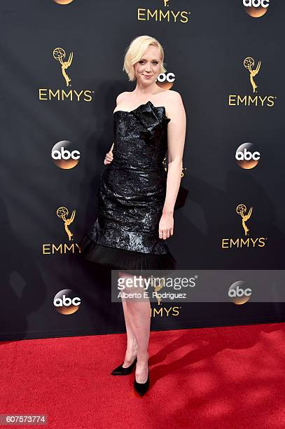 Actress Gwendoline Christie attends the 68th Annual Primetime Emmy Awards at Microsoft Theater on September 18 2016 in Los Angeles California