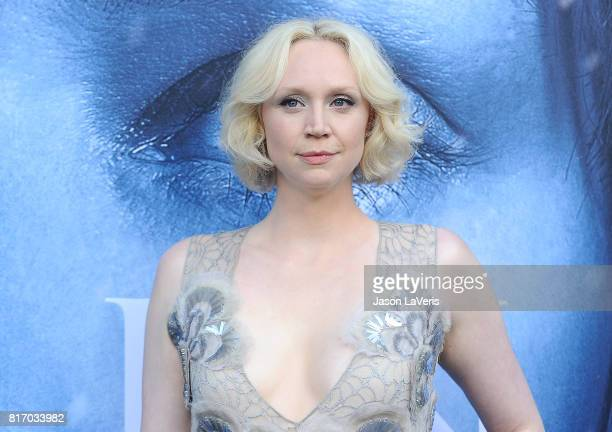 Actress Gwendoline Christie attends the season 7 premiere of 'Game Of Thrones' at Walt Disney Concert Hall on July 12 2017 in Los Angeles California