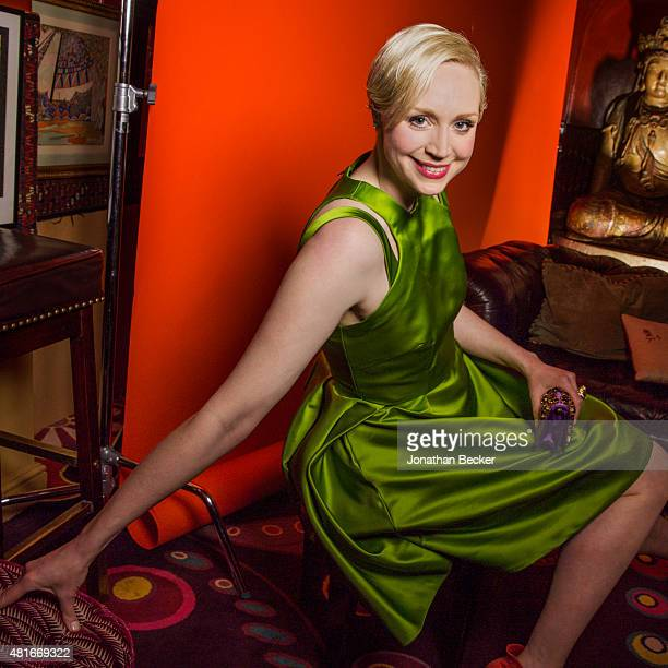 Actress Gwendoline Christie is photographed at the Charles Finch and Chanel's PreBAFTA on February 7 2015 in London England PUBLISHED IMAGE