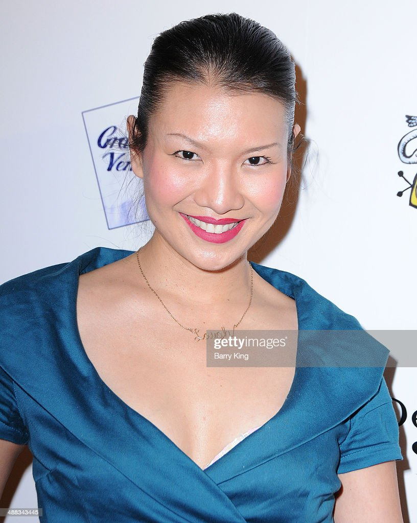 Actress Gwendoline Yeo attends the 'Perfect Sisters' Los Angeles premiere on April 8, 2014 at Landmark Nuart Theatre in Los Angeles, California.