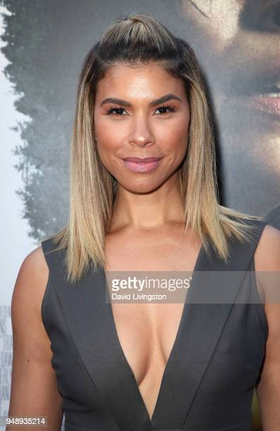 Actress Gwendolyn OsborneSmith attends the premiere of Codeblack Films' Traffik at ArcLight Hollywood on April 19 2018 in Hollywood California