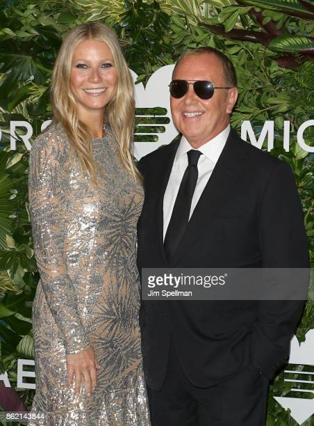 Actress Gwyneth Paltrow and designer Michael Kors attend the 11th Annual God's Love We Deliver Golden Heart Awards at Spring Studios on October 16...