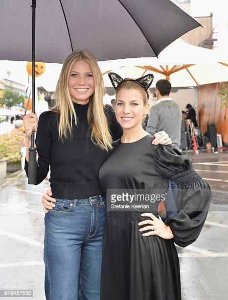 Actress Gwyneth Paltrow and Founder of the GOOD Foundation and host Jessica Seinfeld attends the FirstEver GOOD Foundation Halloween Bash hosted...