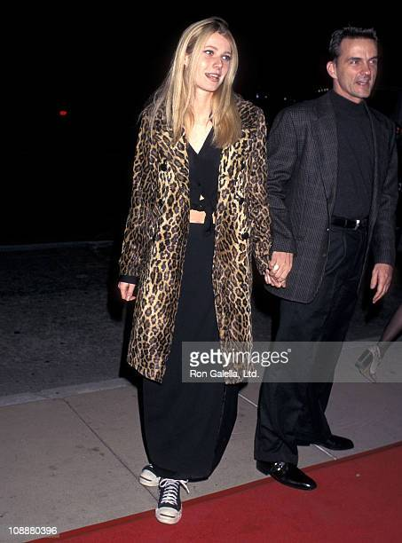 """Actress Gwyneth Paltrow and her publicist Stephen Huvane attend the """"From Dusk Till Dawn"""" Hollywood Premiere on January 17, 1996 at Pacific's..."""