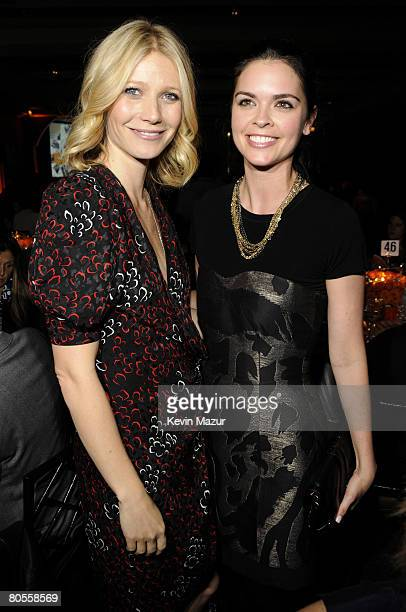 Actress Gwyneth Paltrow and Katie Lee Joel attend the Food Bank For New York City's 5th Annual CanDo Awards Dinner at Abigail Kirsch's Pier Sixty at...